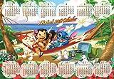 1000ピース 2008年 リロ&スティッチカレンダー D-1000-324