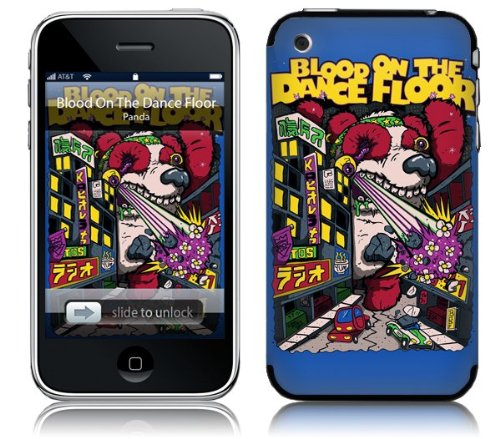 Music Skins MS-BODF10001 iPhone 2G-3G-3GS- Blood On The Dance Floor- Panda Skin
