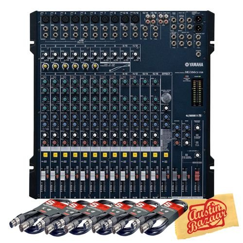 Yamaha MG166CX-USB 16-Input 6-Bus USB Rack Mountable