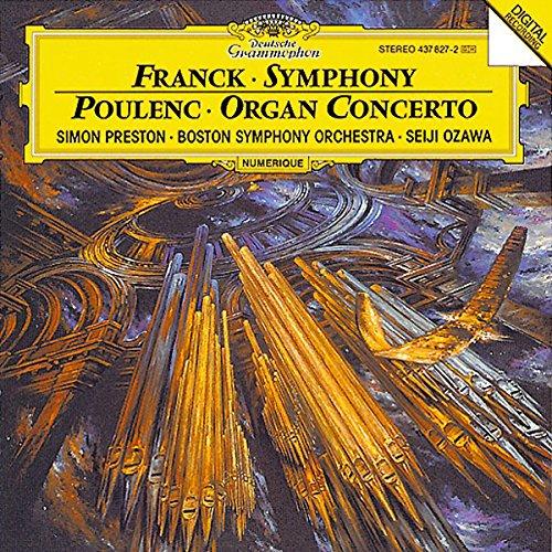 Symphony in D Minor / Organ Concerto (Poulenc Organ Concerto compare prices)