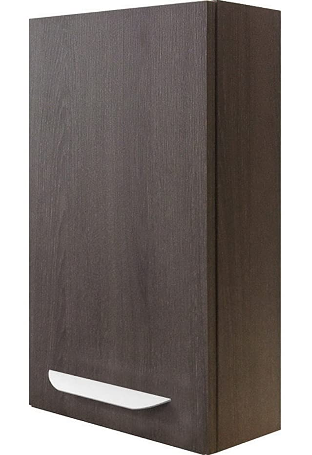 Fackelmann LAVELLA pensile, destra, in legno di quercia Cognac/quercia Cognac/mobili da bagno