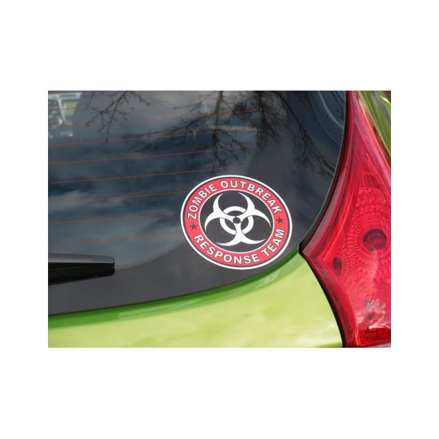 Zombie Outbreak Response Team Cool Vinyl Decal Bumper Sticker (Decal Kingz) 5x5