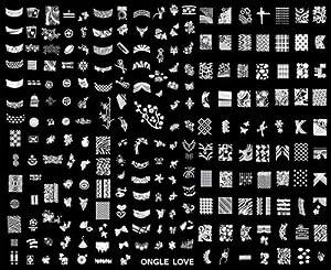 Cheeky Plaque de 220 tampons Nail Art