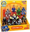 Imaginext Justice League 7 Pack Action Figure Set With Batman, Superman, Green Arrow and Others
