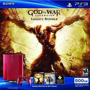 PS3 500 GB God of War Ascension Legacy Bundle