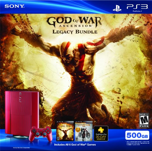 PS3 500 GB God of War Ascension Legacy Bundle