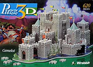 Puzz 3D Puzzle CAMELOT 620 pieces