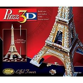 Puzz3D Eiffel Tower Puzzle