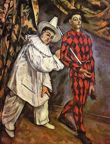 Mardi Gras by Paul Cezanne