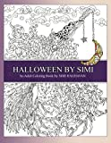 Halloween by Simi: Hand drawn Halloween Adult Coloring Pages of Amazing Designs.