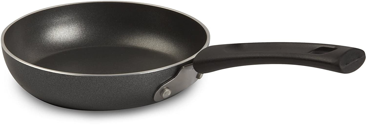 T-fal A8570084 Specialty Nonstick One Egg Wonder 4.5-Inch Fry Pan Dishwasher Safe Cookware, Grey $5.49