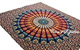 Handicrunch COR Mehrfarbige Mandala Tapestry Indian...