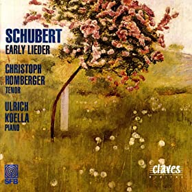 Franz Schubert: Early Lieder