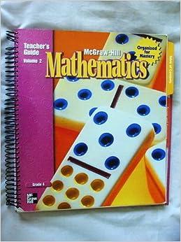 mcgraw hill my math grade 5 volume 1 pdf