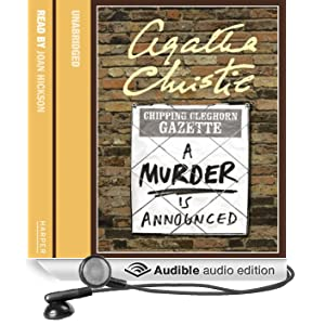 A Murder is Announced (Unabridged)