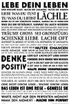Empire 555687 Motivational - Lebe Dei...