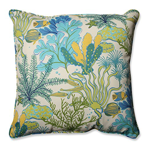 Grass Floor Pillows : Pillow Perfect Outdoor/ Indoor Splish Splash Marina 25-Inch Floor pillow Food, Beverages Tobacco ...