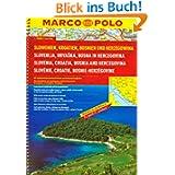 MARCO POLO Reiseatlas Slowenien, Kroatien, Bosnien und Herzegowina 1:300.000 (Marco Polo Road Atlases)