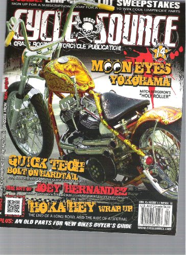 Cycle Source Magazine (Moon eyes, April, 2011) (Mooneyes Oil Tank compare prices)