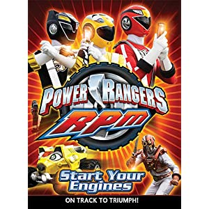 Power Rangers RPM, Vol. 1: Start Your Engines movie