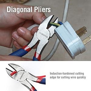 WORKPRO 5-piece Pliers Set Basic Homeowners' Tools (Tamaño: 5-Piece)