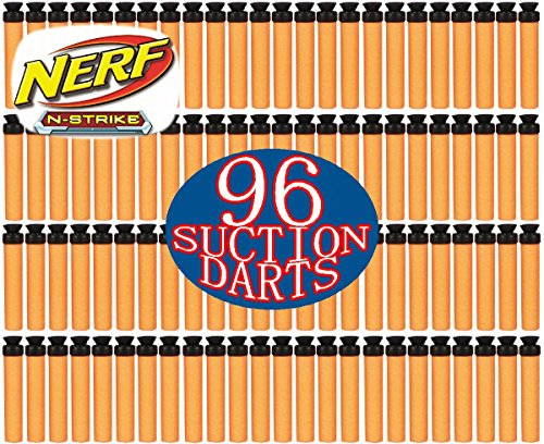 Nerf N-Strike Suction Darts 96 Pack (Nerf Extra Darts And Clips compare prices)