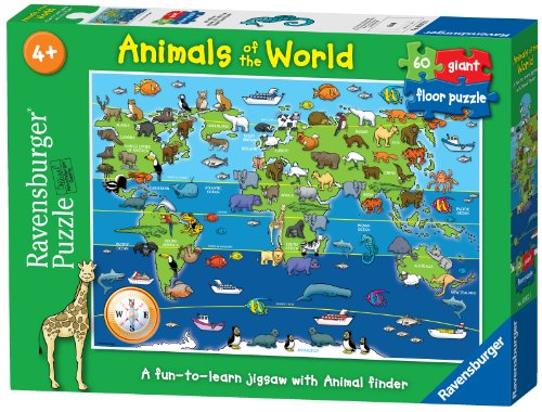 Ravensburger-Animals-of-the-World-60pc-Giant-Floor-Jigsaw-Puzzle