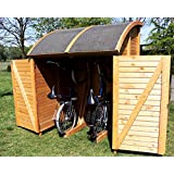 bikeport martin universalbox 155x159x205 cm fahrradschuppen fahrradgarage neu. Black Bedroom Furniture Sets. Home Design Ideas