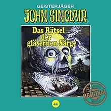 Das Rätsel der gläsernen Särge (John Sinclair - Tonstudio Braun Klassiker 44) Hörspiel von Jason Dark Gesprochen von:  div.