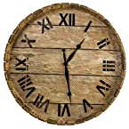 Barrel Wall Clock