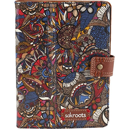Sakroots Artist Circle Mini Ipad Folio Laptop Bag,Aegean Spirit Desert,One Size