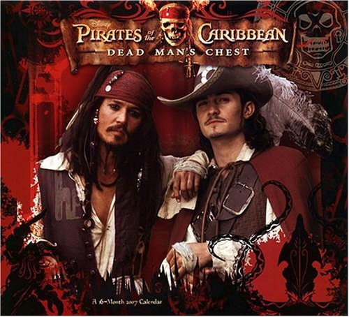 Pirates of the Caribbean Dead Man's Chest 2007 Wall Calendar - Buy Pirates of the Caribbean Dead Man's Chest 2007 Wall Calendar - Purchase Pirates of the Caribbean Dead Man's Chest 2007 Wall Calendar (Day Dream, Office Products, Categories, Office & School Supplies, Calendars Planners & Personal Organizers, Wall Calendars)