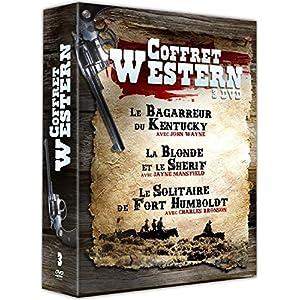 Coffret Western 3 films : Le Bagarreur du Kentucky La Blonde et le shérif Le Solitaire de Fort Humb