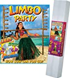 Limbo Kit Includes: 2 - 72 Poles w/Pegs; (72 Limbo Stick; Limbo Music CD) Party Accessory  (1 count) (1/Pkg)
