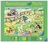 Ravensburger-03673-Niedliche-Bauernhoftiere