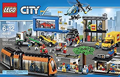 LEGO City Town 60097 City Square Building Kit by LEGO City Town