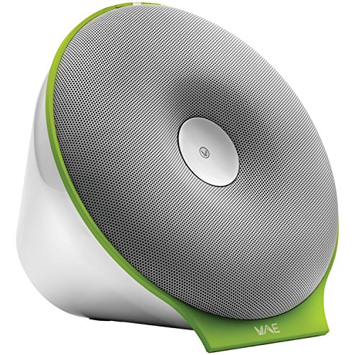 Hercules Portable Bluetooth Speaker - Retail Packaging - White/Tonic Green