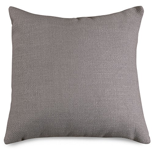 Majestic Home Goods Loft Collection Pillow, X-Large, Gray