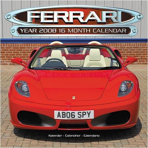 Ferrari Avonside Wall - 2008 Calendar - Buy Ferrari Avonside Wall - 2008 Calendar - Purchase Ferrari Avonside Wall - 2008 Calendar (Calendars, Office Products, Categories, Office & School Supplies, Calendars Planners & Personal Organizers, Wall Calendars)