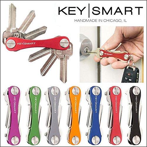 【正規輸入品】キー収納ツール ・ KEY SMART キースマート (レッド)
