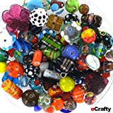 Jewelry-Maker's-EVerYThiNG-But-the-KITchen-SINK-Glass-Beads-Mix-225-GRAMS-1-2-POUND