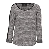 Maison Scotch Boucle Sweat Top, Stone