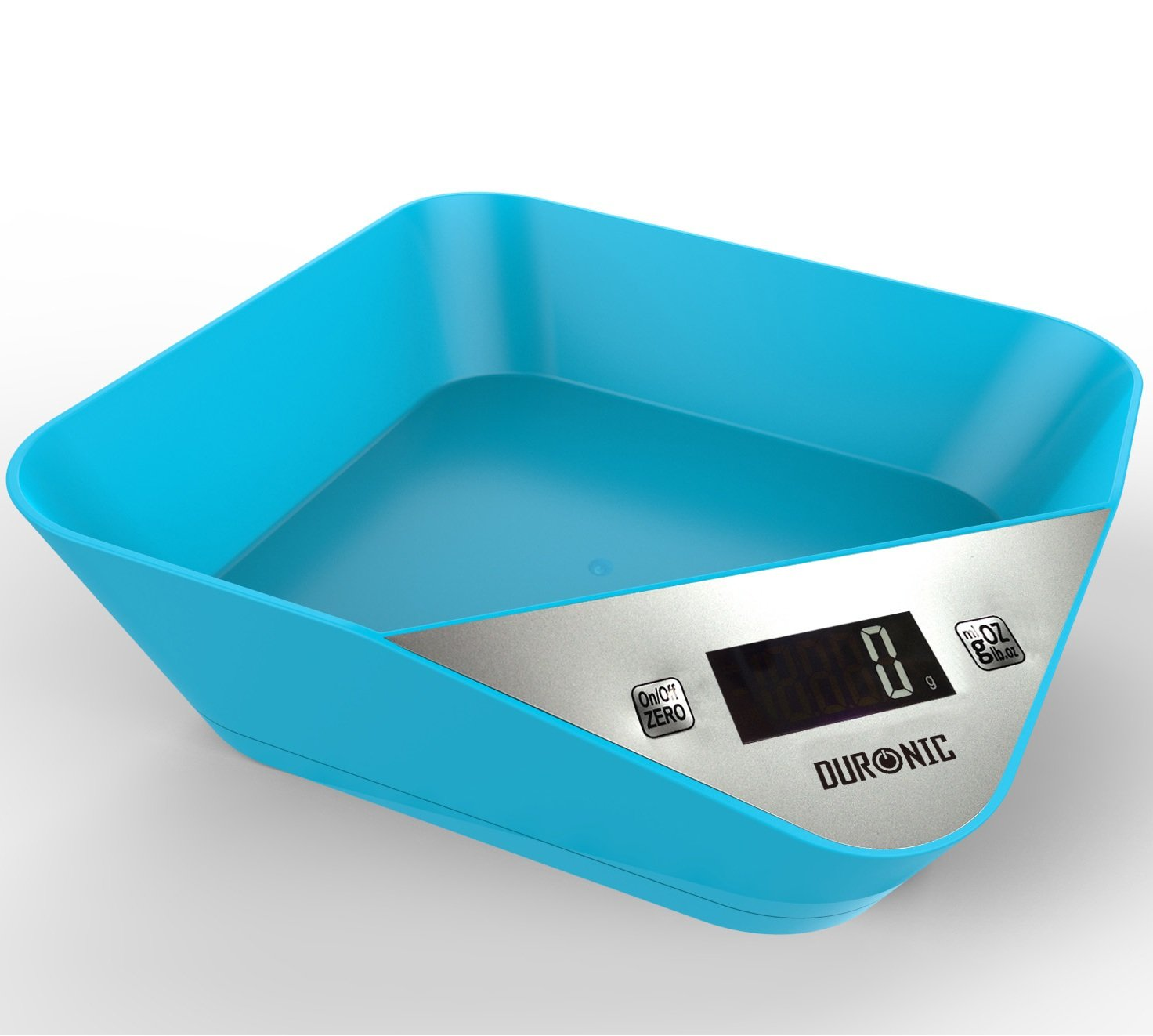 Duronic KS100BE Portable Design Electronic Bowl Kitchen Scales