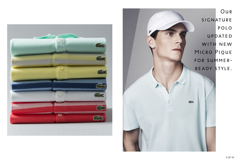 Shop Lacoste: Our Signature Polo