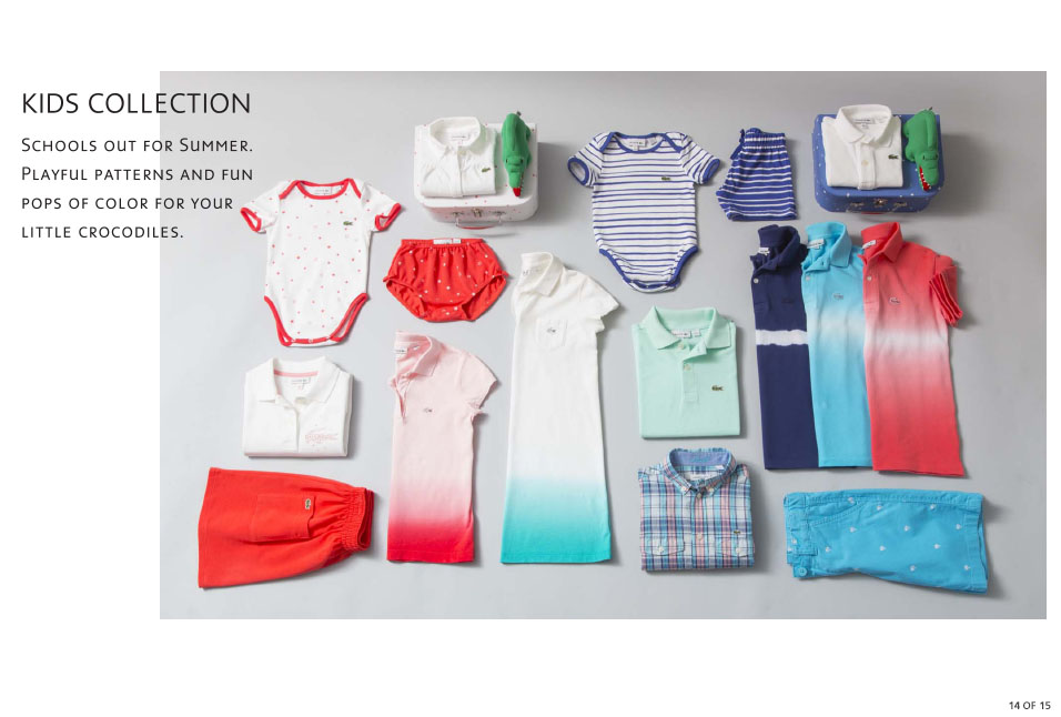 Shop Lacoste: Kids Collection