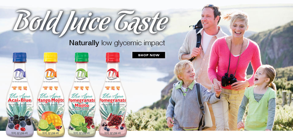 Bold Juice Taste, Natrually Low GLycemic Impact