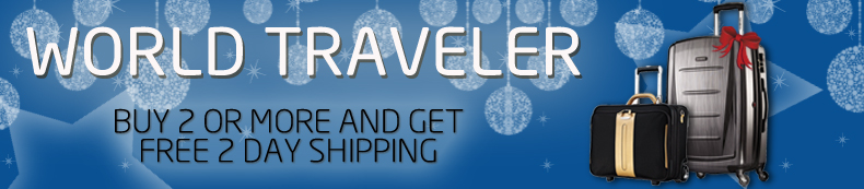 World Traveler. Buy 2 or more and get free 2 day shipping.
