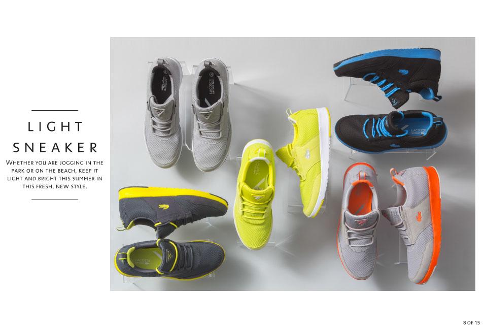 Shop Lacoste: The Light Sneaker