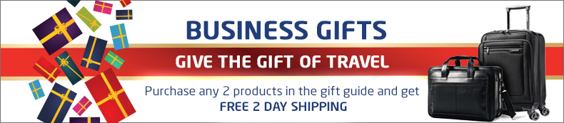 Business Gifts. Give the gift of travel. Buy 2 or more and get free 2 day shipping.