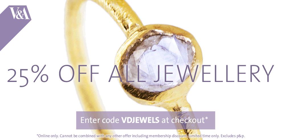 25% Off all Jewellery